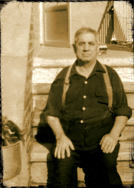 Achille, my grandfather, taken in the Bronx.