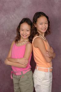 Kelela and Corrinne