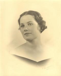 Betty Buchanan - Helen's Friend - Portrait by E Brunel