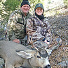 Son-in-law Bill Frazier with daughter Brooke with her Idaho Buck, November 8, 2011