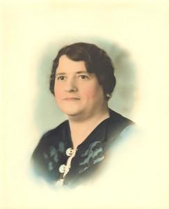 Eliese Friedrich nee Schultz Helen's Mother - Portrait by E Brunel