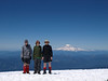 Summit of Mt Adams (rainier in background) 2010