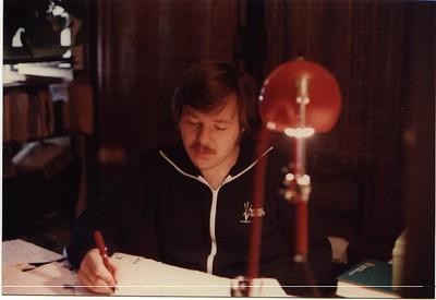 Writing the Ph. D. dissertation...way before computers (1978)