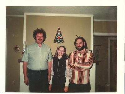 Henry, Carol, Paul - 24 December 1975