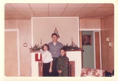 Carol, Henry, Paul - 1963