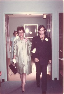 Helen, Mother K, Paul, 1971