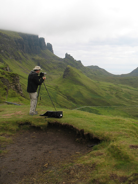 Me on the Isle Of Skye, Scotland