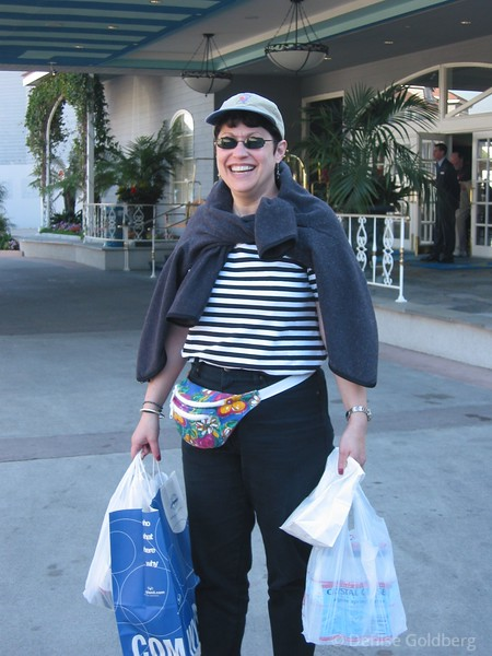 Suze - California shopping