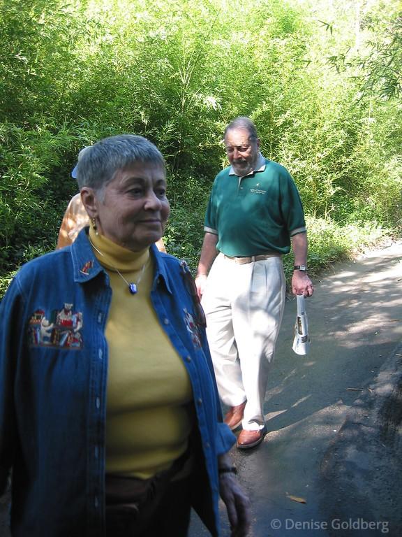 Mom & Dad (Sherry & Eddie) - at the San Diego Zoo