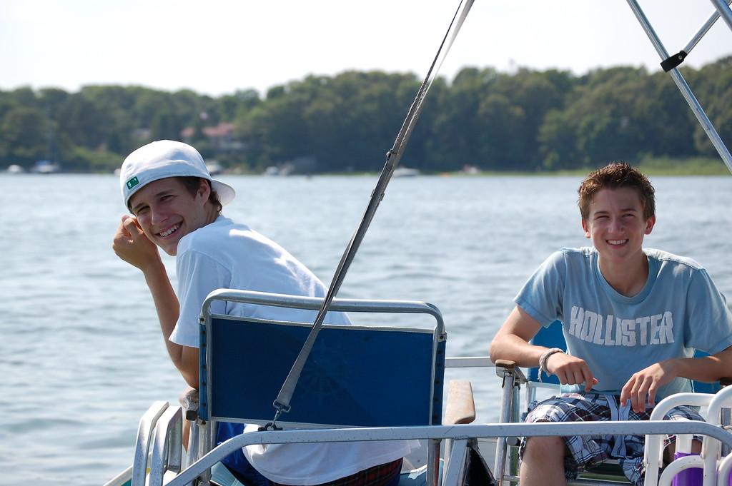 Dan and friend Chris - Falmouth '06