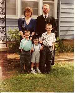 John\'s Graduation from Union 1990