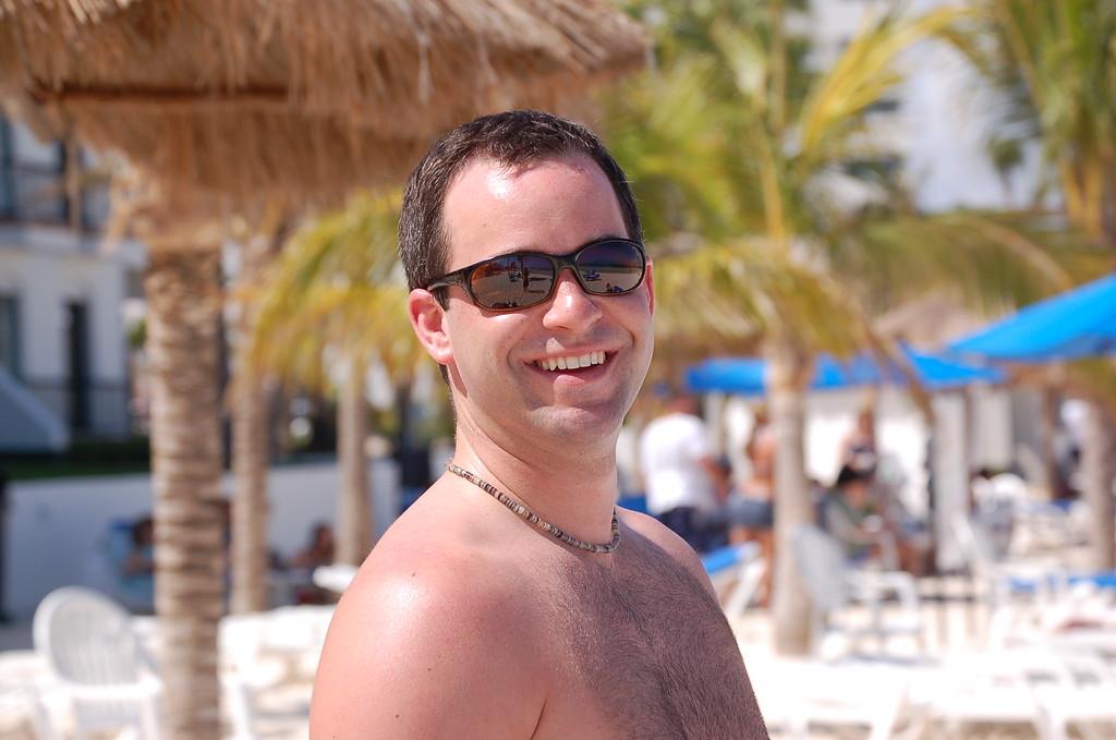 Davidson - lovin it in Cancun