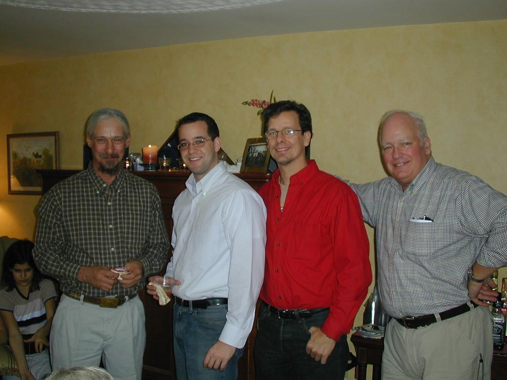 Joe, Dave, Craig and Dad