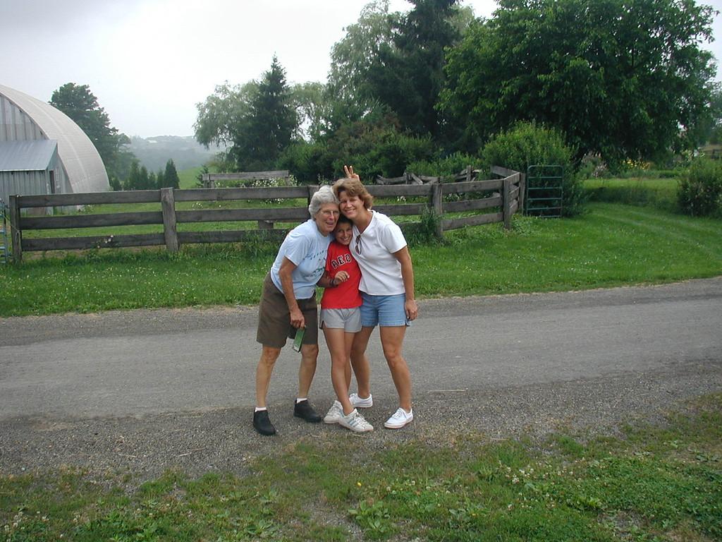 Mom, Megan and Jill in PA