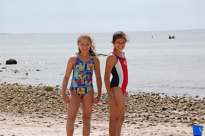 Megan and friend Jess - Woodneck beach