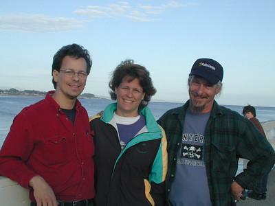 Craig, Jill, Joe - Santa Cruz