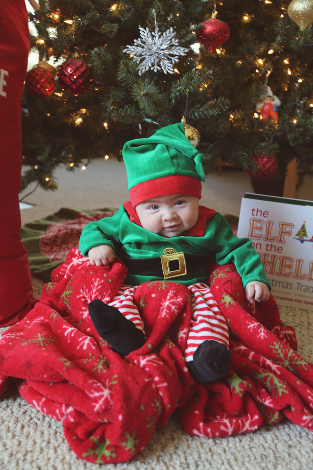 Tate Cobb 3 Month Christmas--4