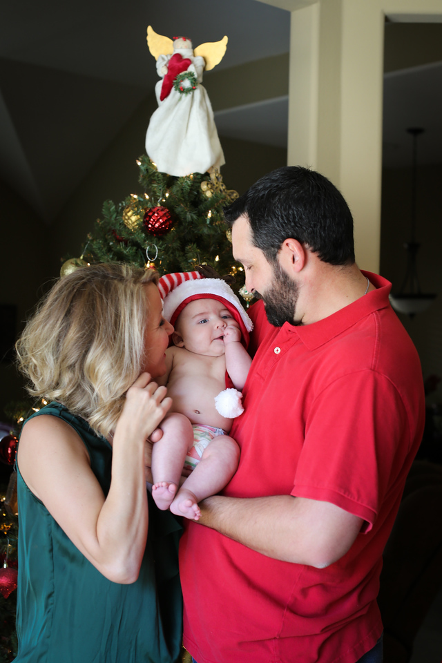 Tate Cobb 3 Month Christmas-1068