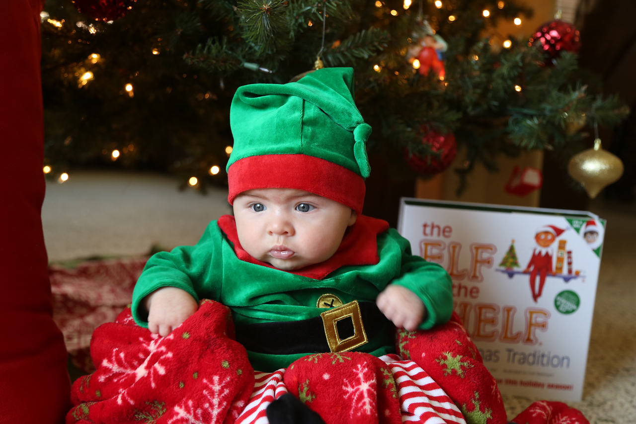 Tate Cobb 3 Month Christmas-0895