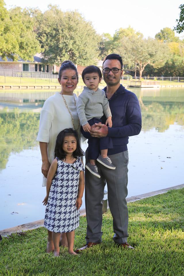Pham-Nguyen Family 2014-15