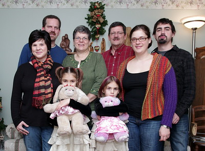 Showalter Family Portrait, Christmas 2013.