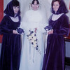 with bridemaids Sue and July. 18 July, 1970