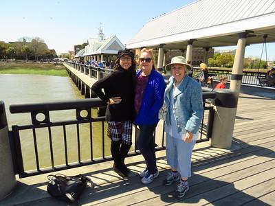 Jenny, Kelly & Jan, the Pier, Waterfront Park, Charleston SC, 245pm, march 23, 2019 IMG_7597