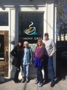 Jenny, Jan, Kelly & Roy, Breakfast at Hominy Grill, Charleston, SC, march 23, 2019 IMG_3147