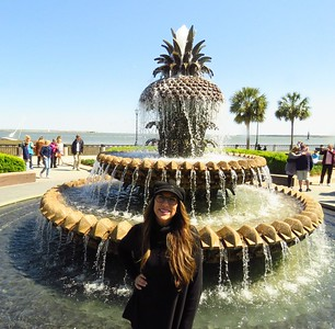 # 3 Jenny, the Pineapple Fountain, Waterfront Park, Charleston SC, 250pm, march 23, 2019 IMG_7604A