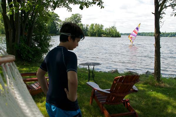 More windsurfing