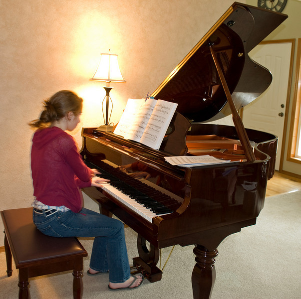 The new piano