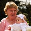 Easter 2012 <br /> Mom & great-granddaughter McKenzie