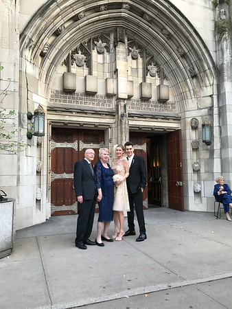 New York wedding weekend