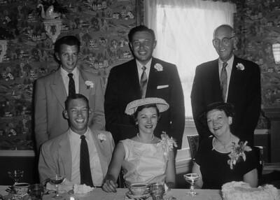 Betty Jelinek, Norm Jelinek, Dick Wiedlund, Bob Wiedlund, Art Wiedlund, Claudia Wiedlund, Bob Wiedlund