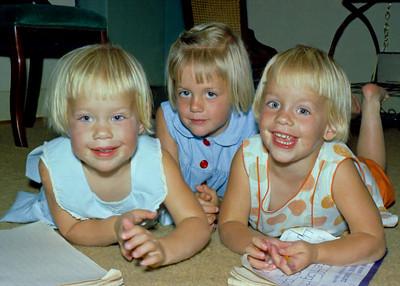 Margie Wiedlund, Sandy Wiedlund, Karen Wiedlund
