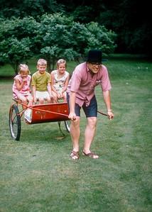 Margie Wiedlund, Jerry Jelinek, Karen Wiedlund, Dick Wiedlund