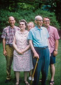 Art Wiedlund, Claudia Wiedlund, Bob Wiedlund, Betty Jelinek, Dick Wiedlund