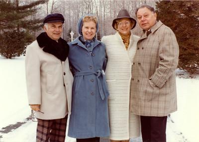 Betty Jelinek, Norm Jelinek, Marj Fuerman, Warren Fuerman