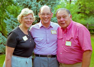 Betty Jelinek, Bob Wiedlund, Norm Jelinek