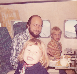 Kira, Chuck, & Carl bound for Pennsylvania Nov 1972