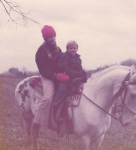Georgeanna & Carl on Prince Nov 1972