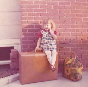 Kira ready for trip to Pennsylvania Nov 1972
