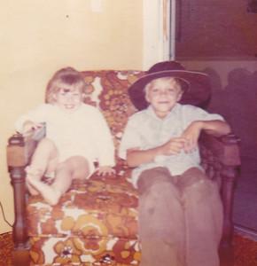 Kira & Carl Vintere July 1972
