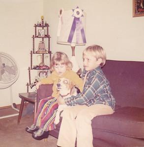 Kira, Penny, Carl Nov 1972