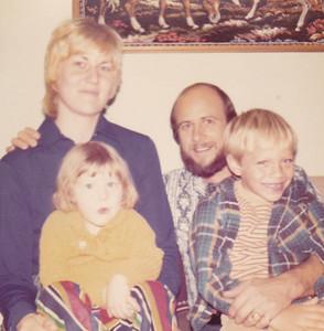 Carolyn & Kira Chuck & Carl Nov 1972