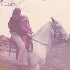Georgeanna & Kira on Prince Nov 1972