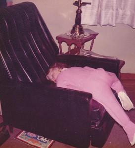 Kira - sound asleep Nov 1972