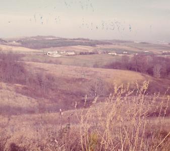 countryside near Unity, PA Nov 1972