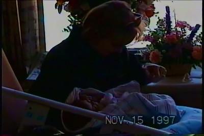 Francesca and Lisa and Gabriel at Hospital