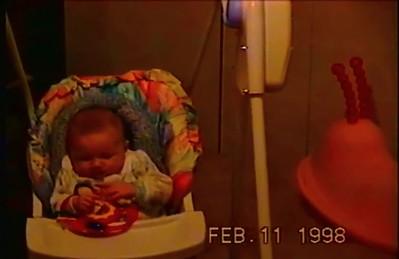 Francesca at Home 11 Feb 98